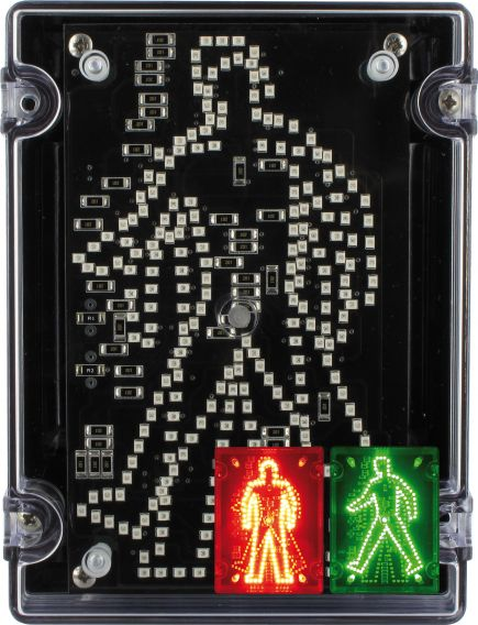 IPN/022 Walking Standing Pedestrian Traffic Light